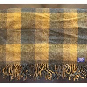 SOLD***Pendleton Wool Throw Blanket Tartan Pattern
